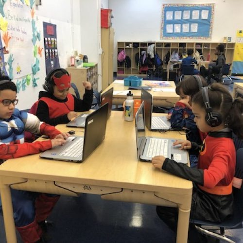 whin-superhero-day-classroom-students